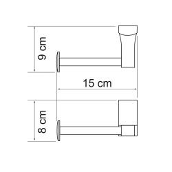 Держатель туалетной бумаги Leine K-5096