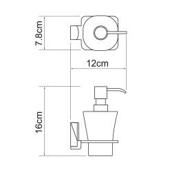 Дозатор для жидкого мыла Leine K-5099