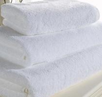 Купить белые махровые полотенца