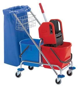 Купить тележку для уборки помещений в Краснодаре